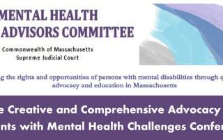 The Creative and Comprehensive Advocacy for Parents with Mental Health Challenges Conference