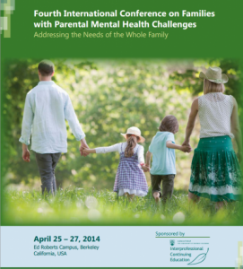 CFC Keynotes at the 4th International Conference on Families with Parental Mental Health Challenges